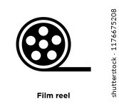 film reel icon vector isolated... | Shutterstock .eps vector #1176675208