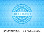 genuine product water wave... | Shutterstock .eps vector #1176688102