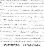 hand drawn black light lines ... | Shutterstock .eps vector #1176689662