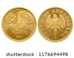 deutschland brd 1 deutsche mark ... | Shutterstock . vector #1176694498