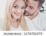 close up portrait of beautiful... | Shutterstock . vector #1176701575
