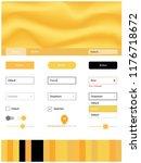 light yellow vector material...