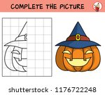 complete the picture of a... | Shutterstock .eps vector #1176722248