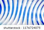 a modern art 3d illustration of ... | Shutterstock . vector #1176724075