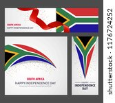 happy south africa independence ... | Shutterstock .eps vector #1176724252