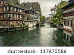 houses on the river | Shutterstock . vector #117672586