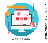 flat vector illustration of web ...