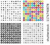 100 Autumn Festival Icons Set...