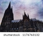 cologne cathedral koln | Shutterstock . vector #1176763132