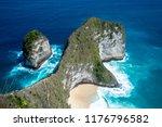 top view of karang dawa bay ... | Shutterstock . vector #1176796582