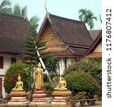 luang prabang laos march 31 ... | Shutterstock . vector #1176807412
