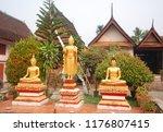 luang prabang laos march 31 ... | Shutterstock . vector #1176807415