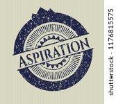 blue aspiration rubber grunge... | Shutterstock .eps vector #1176815575
