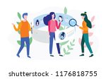 concept human resources ... | Shutterstock .eps vector #1176818755