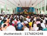 bago myanmar august 19 2018... | Shutterstock . vector #1176824248