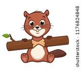 vector illustration of cartoon... | Shutterstock .eps vector #1176824848