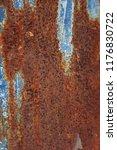 rust steel rust textures  | Shutterstock . vector #1176830722