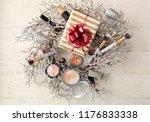 set of decorative cosmetics... | Shutterstock . vector #1176833338