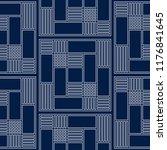 seamless tiled geometric... | Shutterstock .eps vector #1176841645