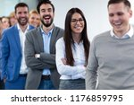 group picture of business team... | Shutterstock . vector #1176859795