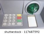 Atm Keypad Bank Teller Money...