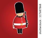 British Queen\'s Guard Infantry...