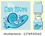 pattern t shirt vector... | Shutterstock .eps vector #1176910162