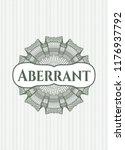 green abstract linear rosette... | Shutterstock .eps vector #1176937792