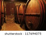 wine cellar in tuscany | Shutterstock . vector #117694075