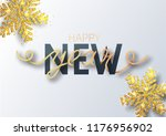 greeting card  invitation with... | Shutterstock .eps vector #1176956902