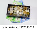 coins of different... | Shutterstock . vector #1176993022