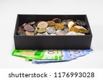 coins of different... | Shutterstock . vector #1176993028