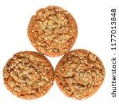 appetizing chip cookies close...   Shutterstock . vector #1177013848
