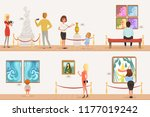 cartoon characters people... | Shutterstock .eps vector #1177019242