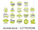 creative hand drawn gray and... | Shutterstock .eps vector #1177019248
