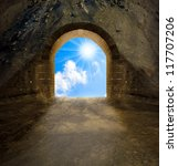 way to new life. positive... | Shutterstock . vector #117707206