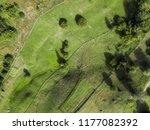 arial rural veiw of rural road  ...   Shutterstock . vector #1177082392