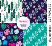 beautiful seamless patterns... | Shutterstock .eps vector #1177091872