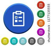 survey round color beveled...   Shutterstock .eps vector #1177135555