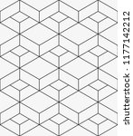 vector seamless pattern.... | Shutterstock .eps vector #1177142212
