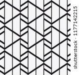 vector seamless pattern.... | Shutterstock .eps vector #1177142215