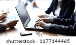 close up. businessman and...   Shutterstock . vector #1177144465