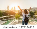 Young Female Tourist With...