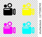 simple video camera icon....