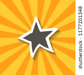 star icon with shadow for web...