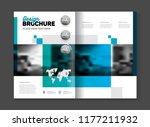 business brochure design vector ... | Shutterstock .eps vector #1177211932