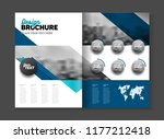 business brochure design vector ... | Shutterstock .eps vector #1177212418