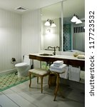 restroom design | Shutterstock . vector #117723532
