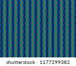 a hand drawing pattern made of... | Shutterstock . vector #1177299382