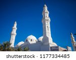 quba   kuba mosque  the first... | Shutterstock . vector #1177334485